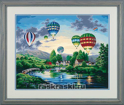 Набор для рисования красками DIMENSIONS 91243 Парад шаров.