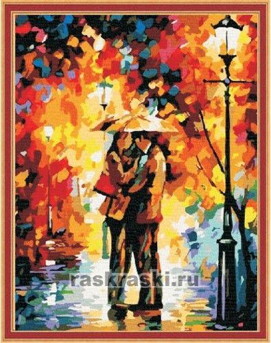 """Раскраска по номерам """"Осенний"""