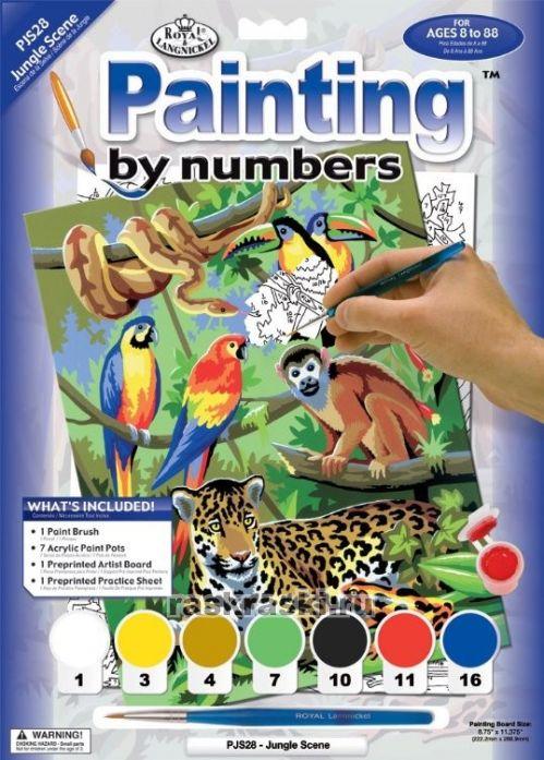 Картина по цифрам раскраска