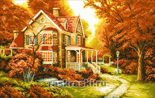 живопись «Золотая осень»