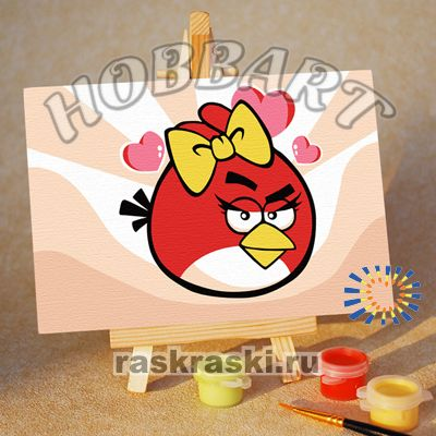 ��������� �� ������� Hobbart �Angry Birds. Red bird. ������� Hobbart M1015141