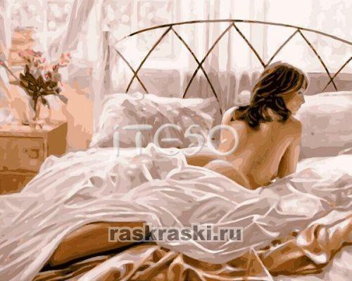 Номерам нежное утро холст 40х50 см