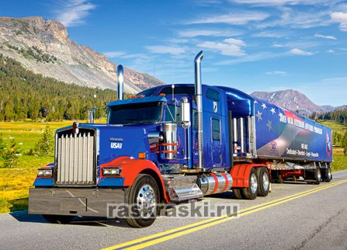 ���� Castorland �Kenworth W 900�, 260 ��. Color-it �27316