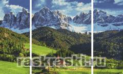 Картины по номерам на холсте и картоне, наборы для ...