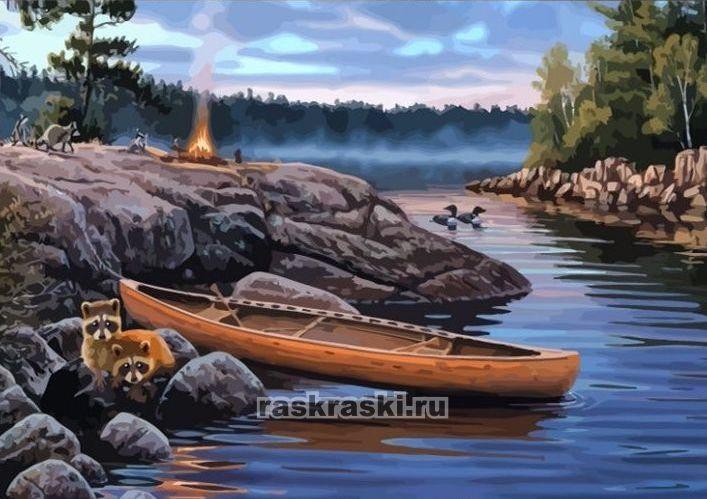 «На пикнике» Color-KIT CG435 — купить картину по номерам ...