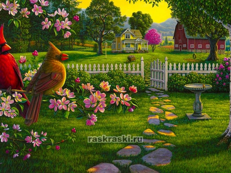 «Сельский пейзаж» Color-KIT KS038 — купить картину по ...