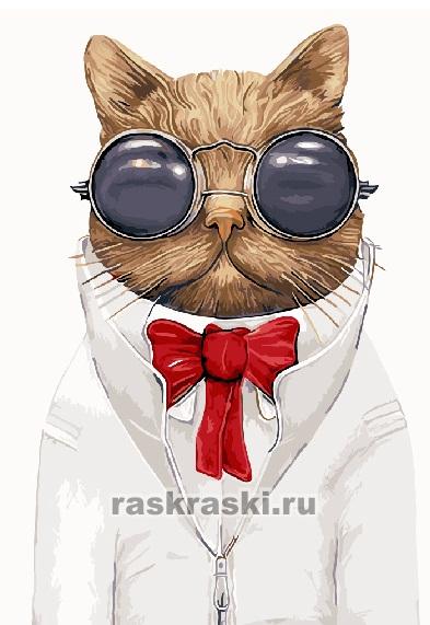 Картина по номерам Paintboy «Кот Базилио»