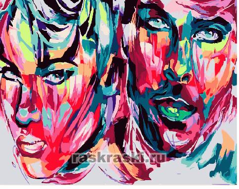 Paintboy / Картина по номерам «Парный портрет»