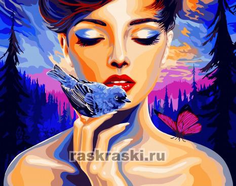 Paintboy / Картина по номерам «Любовь к природе»