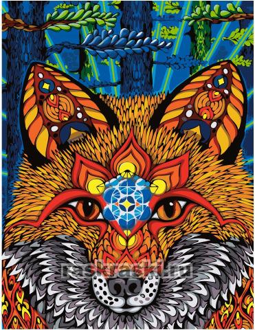 Paintboy / Картина по номерам «Мудрая лиса»