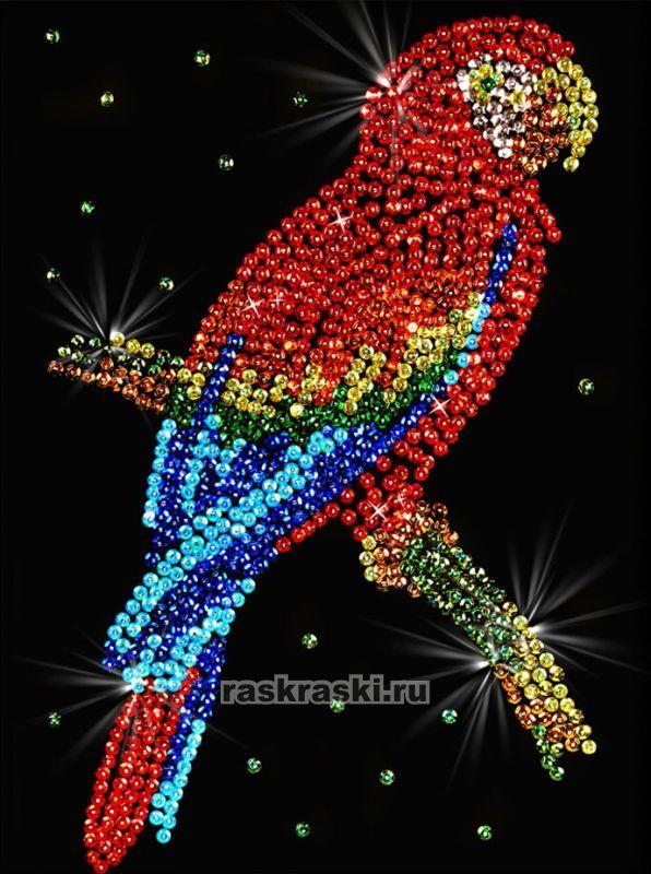 «Попугай какаду» Волшебная мастерская 027 — купить картину ...