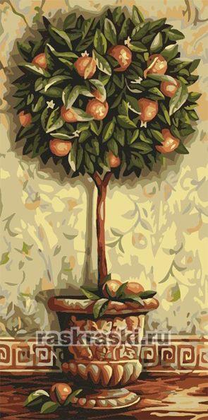 «Апельсиновое дерево» Menglei MY003 — купить картину по ...