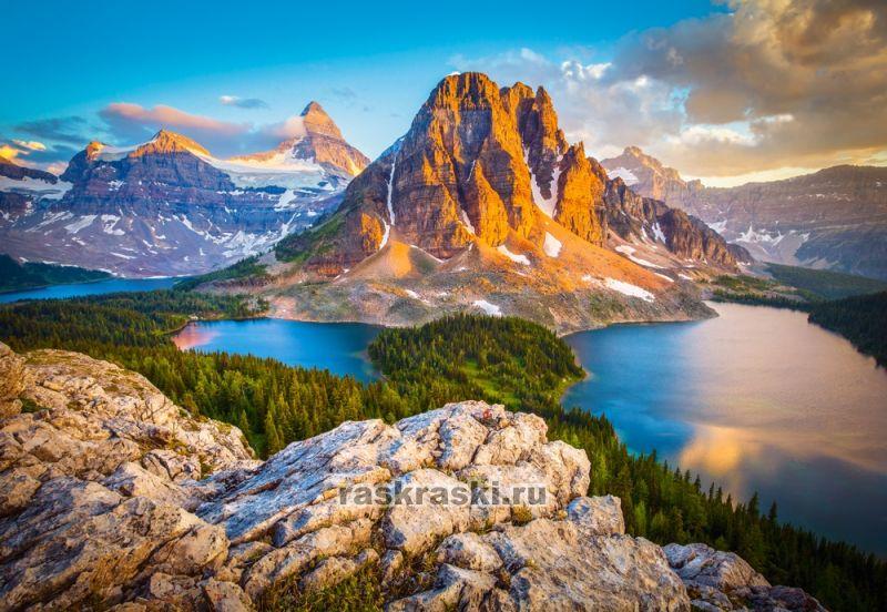 Купить пазл Castorland 1000 «Национальный парк Банф ...