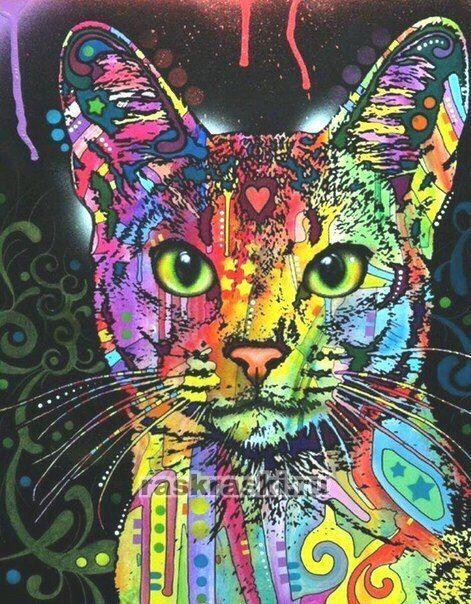 «Разноцветный кот» Paintboy Original GX9868 — купить ...