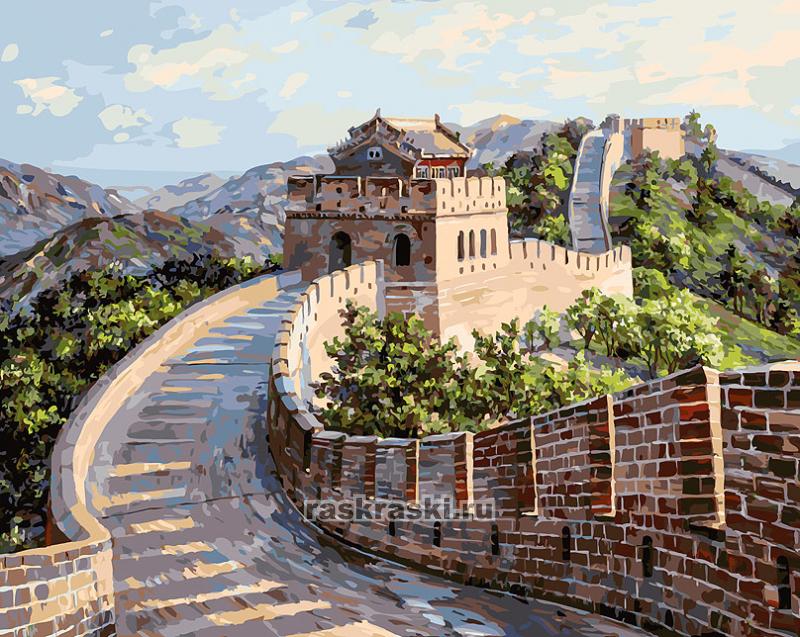 «Великая Китайская стена» Белоснежка 195-AB — купить ...