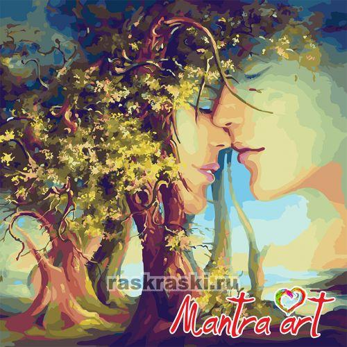 древо жизни мантра арт 2009 купить картину по номерам в