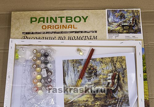 Картина по номерам Paintboy Original «Время листопада» Paintboy Original GX7816