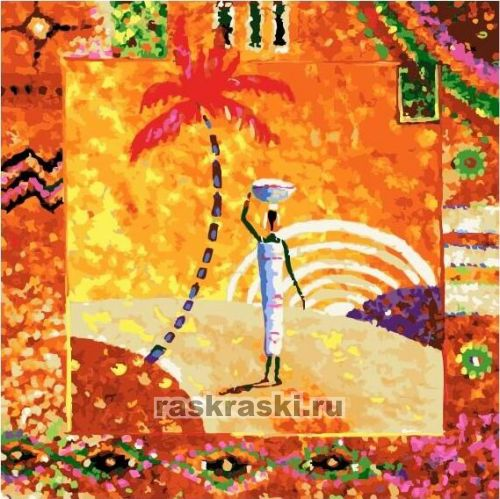 африка Paintboy Original Fx4113 купить картину по номерам