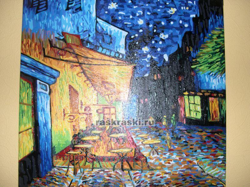 «Ночное кафе, Ван Гог» Color-KIT F014 — купить картину по ...