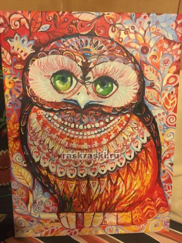 «Медовая сова» Белоснежка 074-AS — купить картину по ...